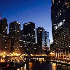 Goodnight Chicago! #byMario  Photo Credit: @noynoy_naoyah