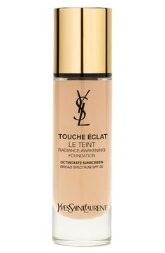 Yves Saint Laurent ' Touche Éclat Le Teint' Radiance Awakening Foundation SPF 22 available at #Nordstrom