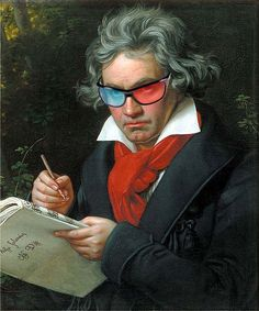 STEREOSCOPY :: Will Beethoven's music + 3D video make anyone stupid or smart? (1/1) -