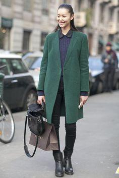 I love that coat.