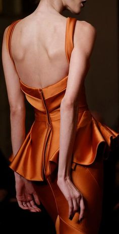 Zac Posen,  Fall 2013 ~ Gorgeous!