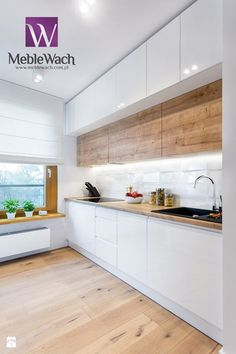 If you are thinking of renovating your kitchen decor you have come to the right place. We know the struggle of refurnishing a kitchen, specially if the available space is confined. Kitchen Room Design, Modern Kitchen Design, Home Decor Kitchen, Interior Design Kitchen, Kitchen Furniture, New Kitchen, Home Kitchens, Modern Kitchen Cabinets, Küchen Design