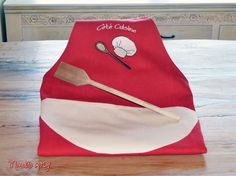 Handmade kitchen apron