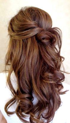 Bridesmaid hair for my friends wedding