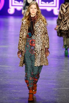 Anna Sui Fall 2016 Ready-to-Wear Collection Photos - Vogue