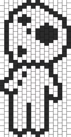 Tree Spirit From Princess Mononoke bead pattern