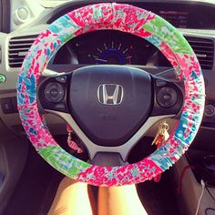Lilly Car Wheel Cover