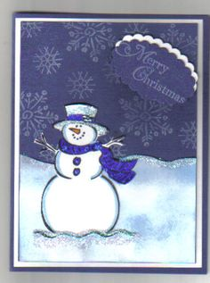 frosty_by_eliseeakin by eliseeakin - Cards and Paper Crafts at Splitcoaststampers