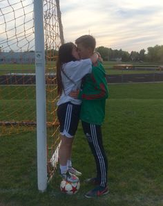 soccer  couple pic idea ☺️