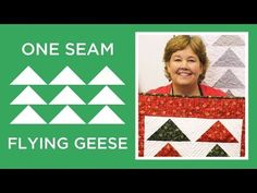 One Seam Flying Geese                                                                                                                                                     More