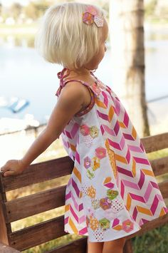 Popover Sundress Remix- i would love to imagine i could ever do anything this cute