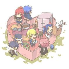 Happy Valentines day from Fairy Tail