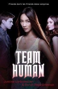 Team Human by Justine Larbalestier and Sarah Brennan (F LAR)