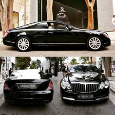 More pictures of the uber rare Maybach 62 Xenatec Coupe one of only six built displayed at the Miami Design District Concours. Maybach Coupe, Mercedes Benz Maybach, Mercedes Benz Cars, Classic Mercedes, All Cars, Sport Cars, Custom Cars, Luxury Cars, Dream Cars