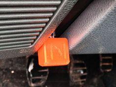 1991 Renault Clio starter button by BrunoBellamy - Thingiverse