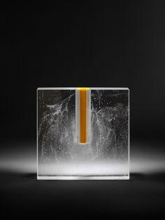 Artworks of glass artist, Bruno Romanelli
