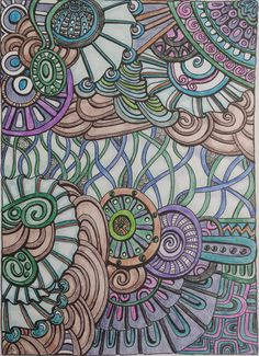 Dec. 23 - A coloring page from Entangled, by Creative Haven