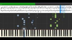 Turkish March _ Mozart Piano Song With Screen Sheet Music | Synthesia Le...
