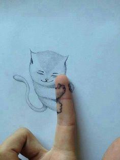 Turtle street art Stunning Illustrations by Tiago Hoisel 3d Art, Drawings, Creative, Amazing Art, Cat Art, Illustration Art, Animal Tattoo, Art, Street Art