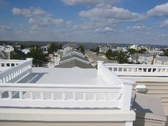 view of bay from rooftop
