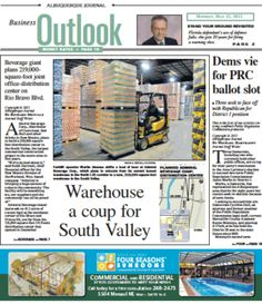Warehouse a coup for South Valley, and more in today's Business Outlook - 5/21/12