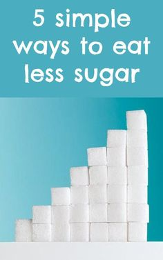 Follow this easy plan to cut down on sugar and get a huge health payoff!