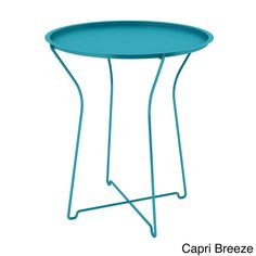 urb SPACE Powder-coated Metal Side Table | Overstock.com Shopping - The Best Deals on Coffee, Sofa & End Tables