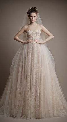 Ersa Atelier 2015 called Cleo. This one is at the very top of my list! Love the color, lace, and satin tulle!!!