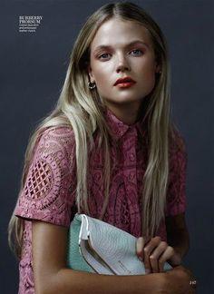 Gabriella Wilde for InStyle Magazine