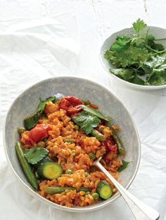 Cheat's Vegetarian Paella