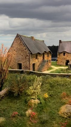 Chaumières bretonnes N, HO, O