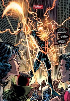 Justice League, Darkseid War - The Flash Flash Comics, Dc Comics Art, Marvel Dc Comics, Batman Returns, Comic Books Art, Comic Art, Flash Characters, Flash Wallpaper, Monster Hunter