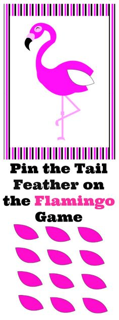 I made this fun spin on the class pin the tail on the donkey game. This is pin the tail feather on the flamingo. It's a fun game for any flamingo, summer or tropical game. This game comes in a printable file just …Read more...