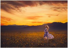 Beautiful pregnant woman in a flowing purple dress poses in a field of yellow wildflowers at sunset for her maternity pictures near Las Vegas. LJHolloway Photography is a Las Vegas Maternity Photographer. Maternity Poses, Maternity Portraits, Maternity Photographer, Family Photographer, Pregnancy Signs, Pregnancy Photos, Winter Maternity Pictures, Beautiful Pregnancy, Photographing Babies