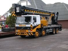 Volvo FL12-truck-crane