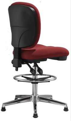 fabric office drafting chair height adjustable operator chair counter cashier computer chair - China Foshan Office Chair & Computer Seating Factory in Alibaba