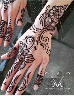 Henna Design For Hands