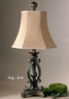 One Light Oil Rubbed Bronze Table Lamp : 8WWK | Annapolis Lighting