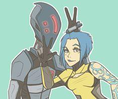 Zer0 and Maya by Porkapine