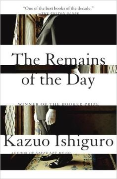The Remains of the Day: Kazuo Ishiguro: 9780679731726: Amazon.com: Books