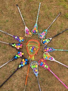 Lacrosse Easter egg hunt
