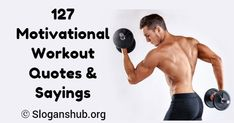 """Here is a list of 127 Motivational Workout Quotes & Sayings. Workout Quotes & Sayings """"Sweat is fat crying."""" """"No pain, no Take Care Of Your Body, Take Care Of Yourself, Gym Slogans, Train Insane Or Remain The Same, Workout Quotes, Motivational Quotes For Working Out, Shut Up, Gain, Crying"""