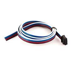 1m RGBW Anschluss mit Stecksystem einseitig Rgb Led, Headphones, Headpieces, Ear Phones