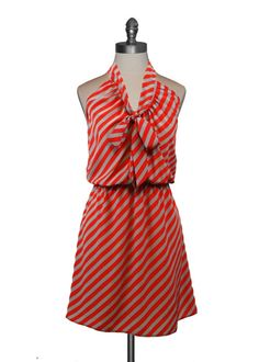 Delightful stripes dress...adore!