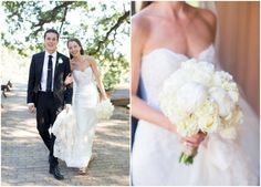 The All White Wedding Bouquet