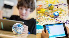 Akıllı telefonla kontrol edilebilen oyuncak top Sphero, 2014'te eğitim odaklı SPRK girişimini duyurmuş, çocuklara kodlama ve programlama öğretmeye soyunmuştu. İkinci büyük güncellemesini SPRK+ ile alan robotik top Sphero, yeni yeteneklere de kavuştu. Bu defa çizilmelere karşı dayanıklı gövdeyle gelen yeni Sphero SPRK+, artık akıllı telefon ve tabletlerle tek dokunuşla eşleştirilebiliyor. Hem iOS hem de Android işletim sistemli mobil cihazlarla kontrol edilebilen cihaz okullarda…