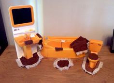 vintage sindy doll furniture. Used to spend hours setting up all the furniture!