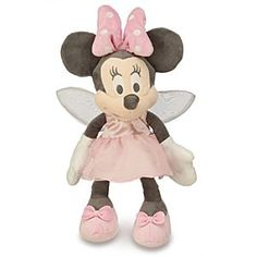 Disney Fairy Minnie Mouse Plush for Baby - Small - 13'' | Disney StoreFairy Minnie Mouse Plush for Baby - Small - 13'' - Our soft plush Minnie is costumed as a shimmering winged fairy for sweet, soaring dreams day or night. Special coloring is designed to please baby's brand new eyes!