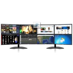 8 x 23.6 inch LED Monitor (1920 x 1080p Resolution Per Monitor) 7680 x 2160p Maximum Combined Resolution 1 x VGA, and 1 x HDMI Inputs per Monitor (Also comes with 8 x HDMI to DVI Adapters) 5ms Response Time & 1,000:1 Static Contrast Ratio Three Year Manufcaturer Warranty on Monitors and Five Year Manufacturer Warranty on Heavy-Duty Monitor Stand!