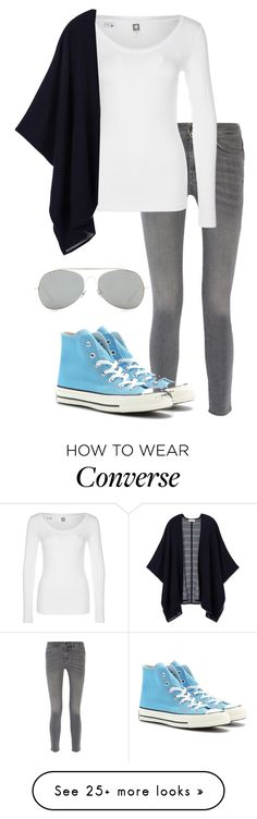 """Chillin'"" by izzy9282003 on Polyvore featuring mode, MiH Jeans, G-Star, Tory Burch, Converse en Acne Studios"